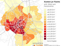 Munich Germany Map by Rent Maps For Germany Empirica Systeme Gmbh