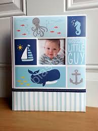 baby boy memory book s blue the sea baby boy memory keepsake book