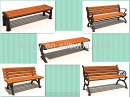 Wooden Park Bench Modern Park Bench Wood Plastic Composite Park Bench Buy Wood