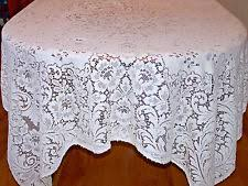 antique lace crochet tablecloths ebay