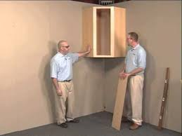wall cabinet aristokraft cabinet installation youtube