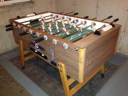 Foosball Table For Sale Going Underground 1 The Foosball Table Restoration All Apple
