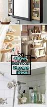 Unique Bathroom Storage Ideas 20 Clever Bathroom Storage Ideas Hative