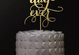 cake topers 11 modern wedding cake toppers that are actually cool stylecaster