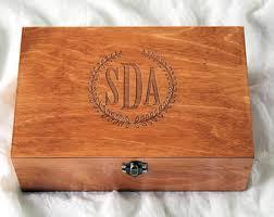 engraved box wooden box etsy