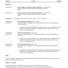 sports resume for college exles resume template college student format how to write for with no