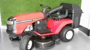 mcculloch eu turbo limited edition ride on lawn mower for sale