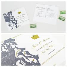 Whidbey Island Map Kerri Efendi Designs Seattle Wedding Invitations