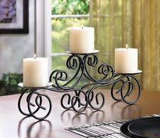 candle table centerpiece ebay