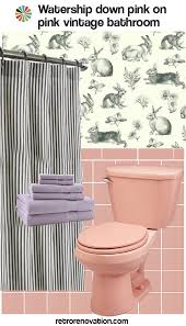 pink bathroom decorating ideas 13 ideas to decorate an all pink tile bathroom retro renovation