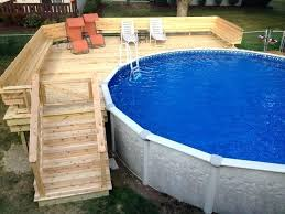 above ground pool deck decorating ideas above ground pool deck