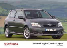 the 2004 toyota corolla toyota uk media site