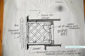 Mud Room Sketch Upfloor Plan Front Entry The Sunny Side Up Blog