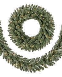 classic blue spruce wreath and garland balsam hill