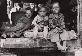 depression era long lost depression era photos capture everyday life of destitute