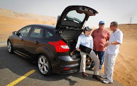 opel uae ford focus st and fusion uae testing programme motoring middle