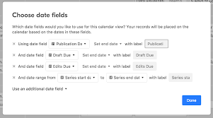 guide to calendar view airtable support