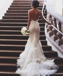 low back wedding dresses of jaw dropping low back wedding dresses 34