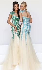 dress mermaid prom dress tulle dress applique dress backless