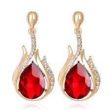 ruby drop earrings ruby drop earrings most popular earrings ideas 2017