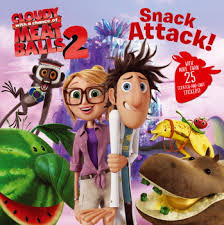 cloudy chance meatballs movie books natalie shaw