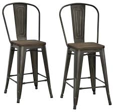 Bar And Stool Sets Copper Bar Stools And Counter Stools Houzz