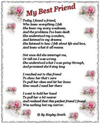 my best friend poems daily quotes of the