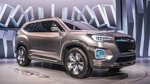Subaru Three Row Vwvortex Com Subaru Ascent Concept Revealed A Close Preview Of