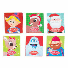 writing supplies rudolph red nosed reindeer notebook