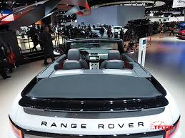 land rover convertible 4 door range rover evoque perfect for sunny california debut at l a auto