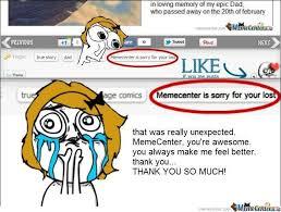Meme Centar - thank you memecenter by yana meme center