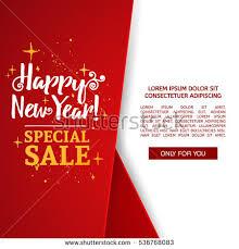 template design banner happy new stock vector 536768083