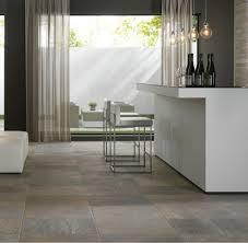 slate tile kitchen with dark wood kitchen isl and kitchen