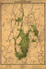 Gettysburg Pennsylvania Map by Map Of The Battle Of Gettysburg American Civil War Pinterest
