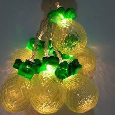 10 mini light string 1m mini 10 led pineapple shaped string lights with battery case