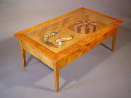glass shadow box coffee table glass top display coffee table drawer coffee table shadow box coffee