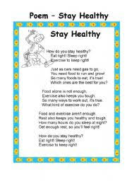 english teaching worksheets healthy food