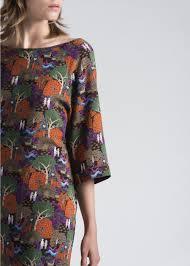Collection La Fee Maraboutee Unic Color Short Forest Print Dress Women U0027s Dresses La Fée