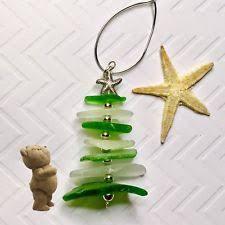 sea glass ornaments ebay
