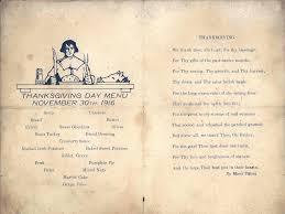 thanksgiving menu parris island south carolina 1916 pa flickr