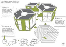 Hexagon House Plans by A Special Little House Made Out Of Cardboard Sustainably Built