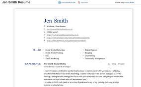 Resume Template Linkedin Linkedin Resume Builder Resume Templates