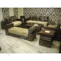 Wooden Home FurnituresDesigner Sofa SetDesigner Center Table - Sofa design center