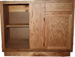 unfinished blind base cabinet builders discount mart oak cabinets
