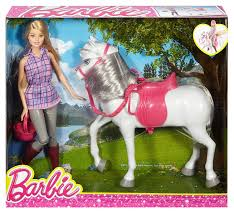 barbie cars adventure hobbies u0026 toys barbie loves her horses doll with horse