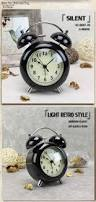 Childrens Bedroom Wall Clocks 4 Inch Ultra Slilent Alarm Clock Creative Simple Style Modern