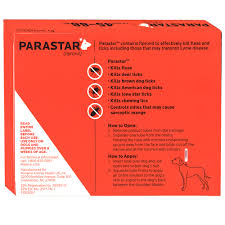 3 month parastar red for dogs 45 88 lbs