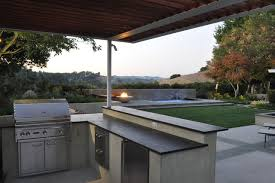 Outdoor Patio Grill Island Modern Style Kitchensflorida Outdoor Kitchens Outdoor Kitchen
