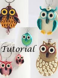 quilling earrings tutorial pdf free download pdf tutorial owl jewelry diy paper quilled earrings and pendants
