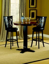 3 piece dining room set hillsdale van draus 3 piece pub set 4975ptbblks2vd